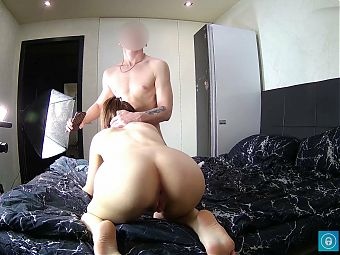 Voiceover video! Shooting amateur porn with 18 yo brunette!
