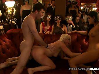 PrivateBlack - Hot Orgy! Hardcore Voyeur Sex Party Heats Up!