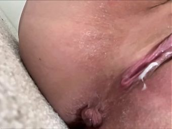 Very creamy wife's pussy