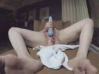 Sexy Grandma has a wet pussy and multiple orgasms