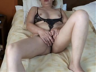 My wife, latin mother takes off her panties, her boss fucks