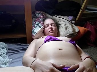 Chubby Hot Wife Playing With Her Pussy On Cam Big Labia