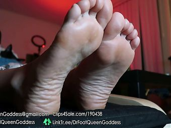 Dr. Foot Queen Goddess - TV Soles Part 6