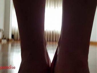 SheerTop underboos legs panty