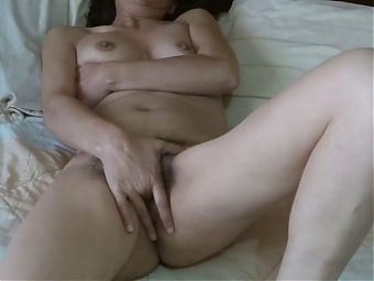 First time my latina sister in law shows me her hairy pussy
