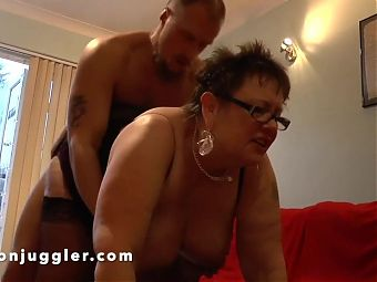 Watch the game or watch my busty Mom being fucked?