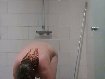 Enjoying the Pride Month 2021 in the Shower!