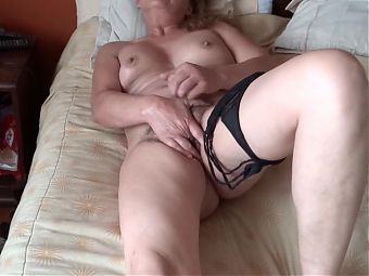 MY 58-YEAR-OLD HAIRY WIFE HAVING INTENSE ORGASMS