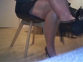My heels do the tapping just for you